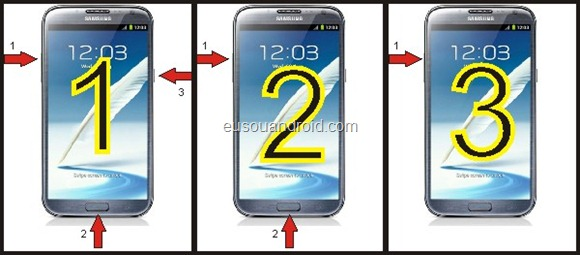 Modo Recovery ClockWorkMod Galaxy Note 2 N7100