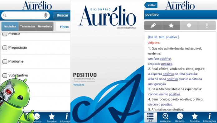 dicionario aurelio para celular android gratis
