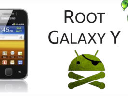 Root no Galaxy Y