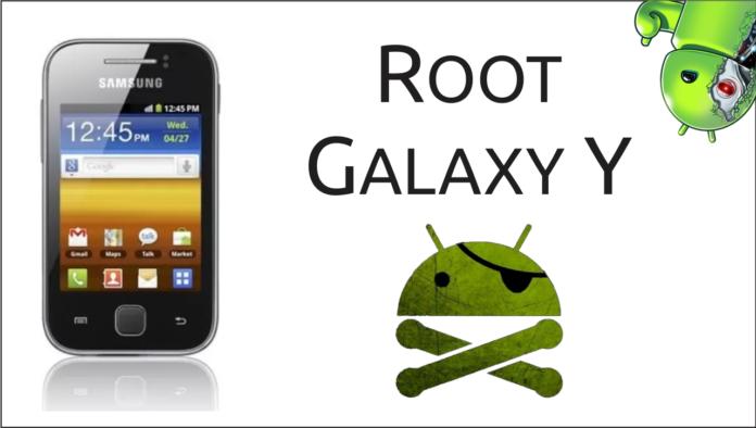 Root no Galaxy Y