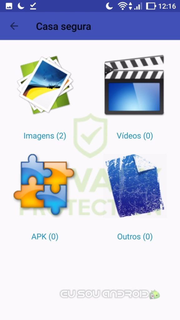 Privacy App Browser proteção de imagens e videos