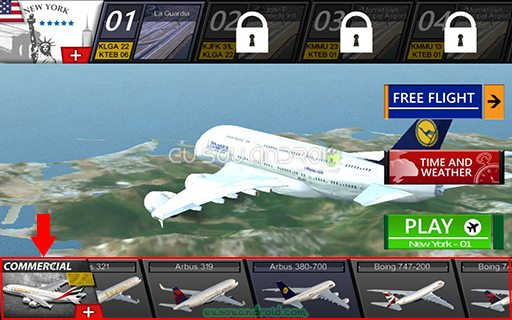 Flight Simulator X 2016 Air HD MOD 05
