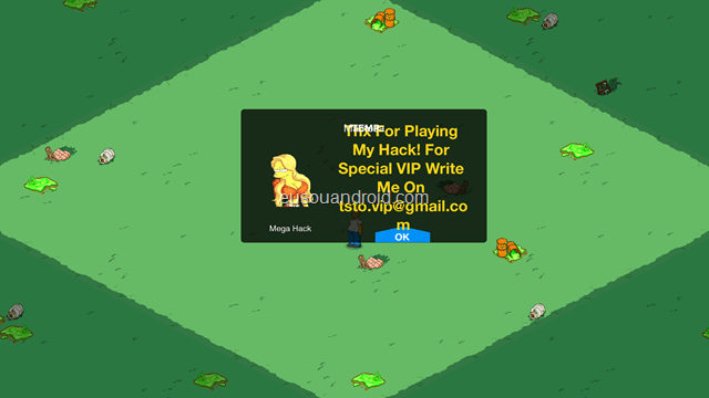 The Simpsons Tapped Out Mega Hack 1