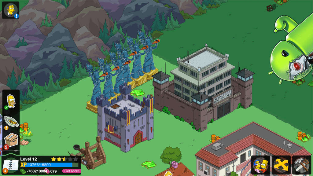 The Simpsons Tapped Out MOD 4.20.3