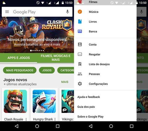 Como atualizar a Google Play Store