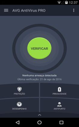 AVG Antivírus PRO para Android