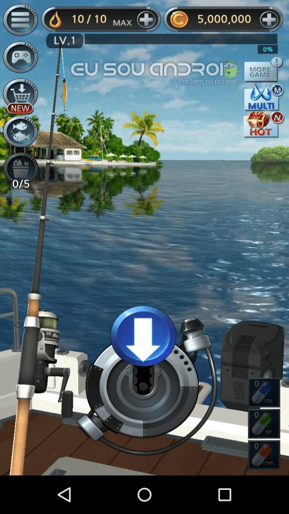 Azol de Pesca Mod