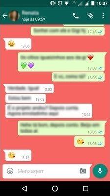 Como alterar a cor de fundo de uma conversa no whatsapp 8