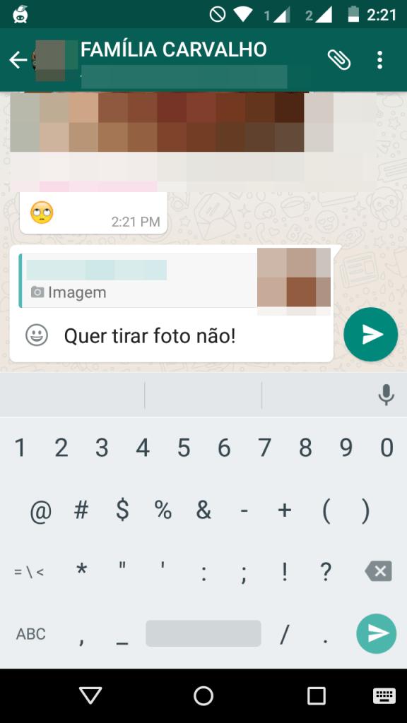 Como ativar o recurso citações no Whatsapp 3