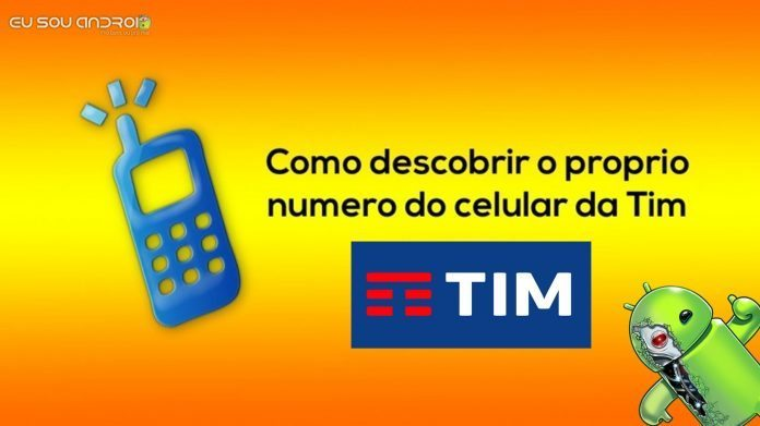 número do meu celular da Tim