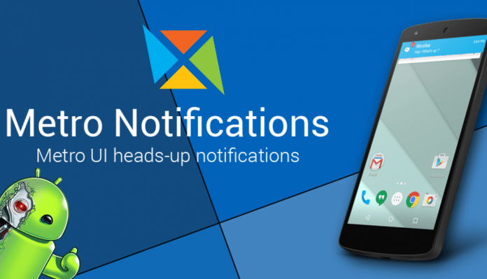 Metro Notifications APK