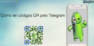Como ler códigos QR pelo Telegram
