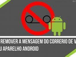 remover mensagens do correio de voz Android Marshmallow