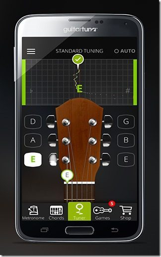 Afinador Guitarra GuitarTuna 01