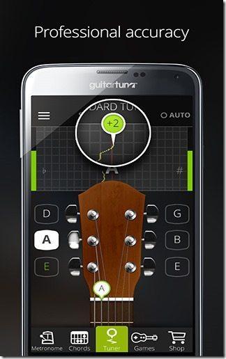 Afinador Guitarra GuitarTuna 03