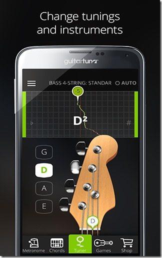 Afinador Guitarra GuitarTuna 04