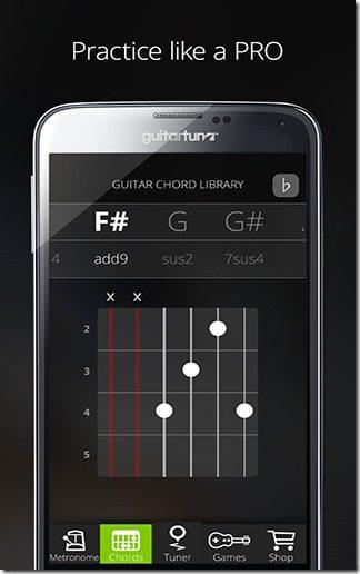 Afinador Guitarra GuitarTuna 06