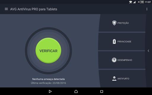 AntiVirus PRO para Tablet