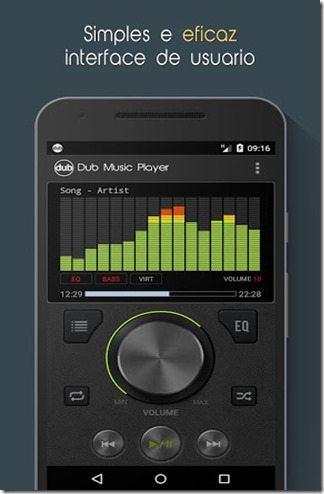 Dub_Music Player Equalizador apk