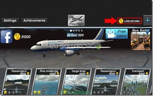 Real Pilot Flight Simulator 3D MOD 01 v1.5