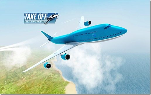 Take Off The Flight Simulator 07