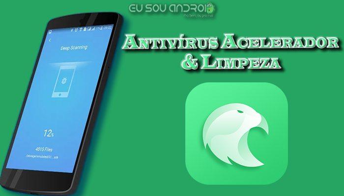 Antivírus Acelerador & Limpeza v1.6.9 Capa