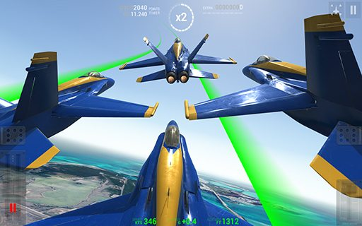 Blue Angels Aerobatic SIM 02