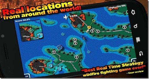 FireJumpers - Wildfire RTS apk gráti