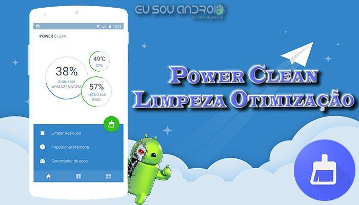 Power Clean Limpeza Otimização v2.8.7.14 Capa