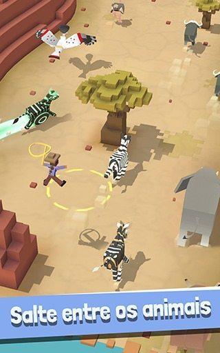 Rodeo Stampede Sky Zoo Safari MOD 01