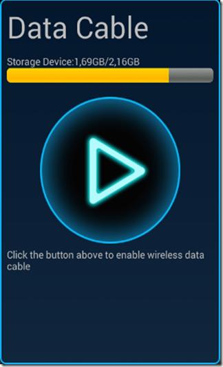 aperte o botão