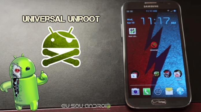 Universal Unroot APK - Eu Sou Android