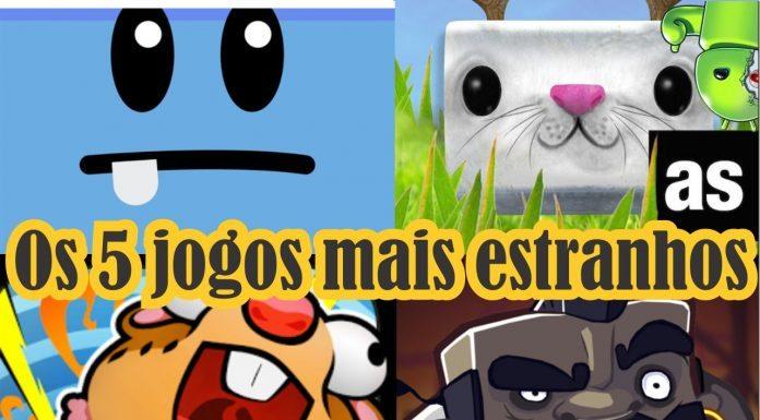 Os 5 jogos mais estranhos para Android