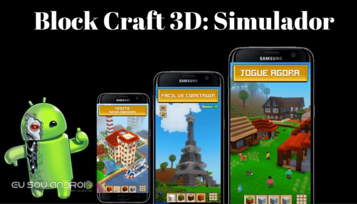 block craft 3d simulador free apk eu sou android