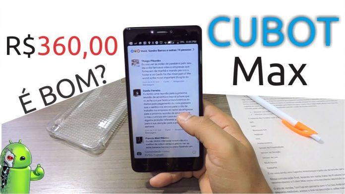 Análise do Cubot Max