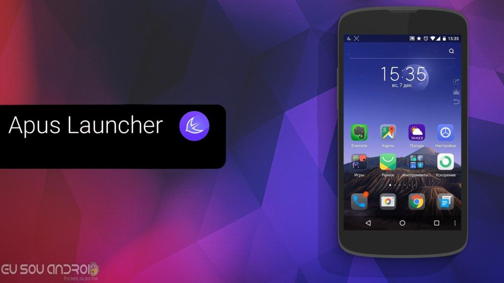 APUS Launcher – Inicializador APK - Eu Sou Android