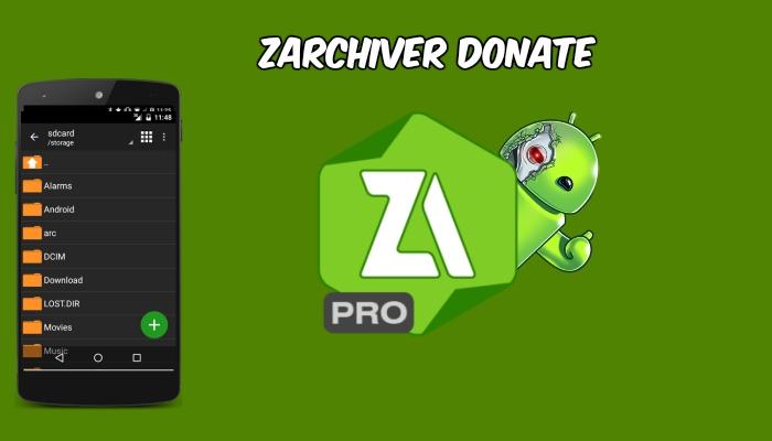 Zarchiver Donate Apk Download Revdl