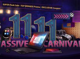 O Festival de Compras Internacional Duplo 11 11
