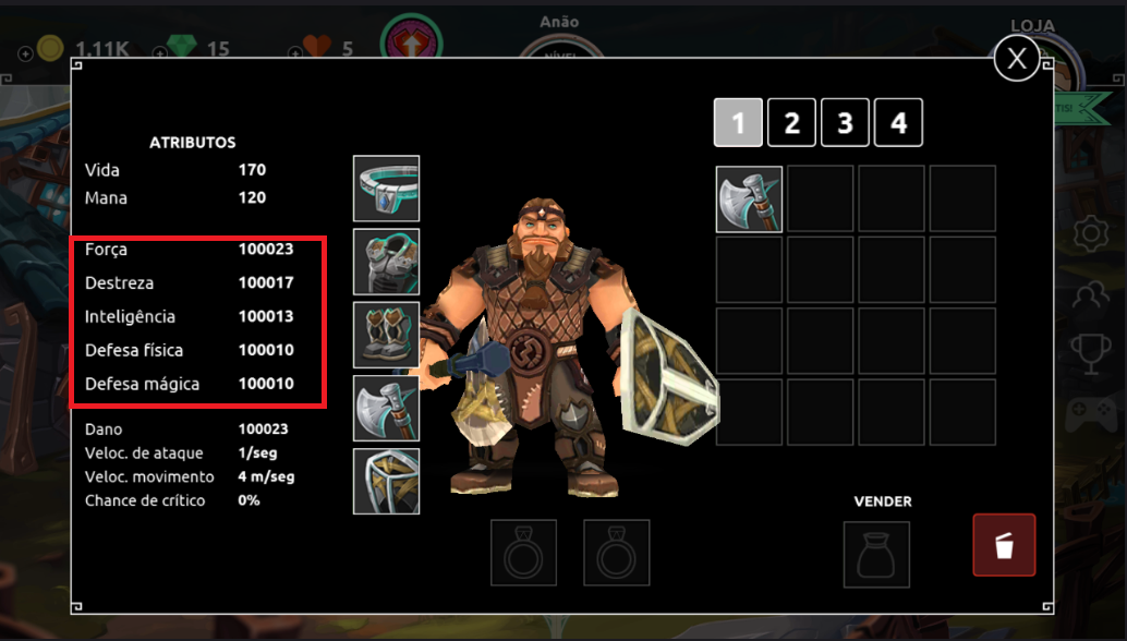 Dungeon Legends Skeleton King