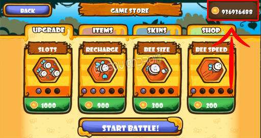 Honey Battle Bears vs Bees Screenshot