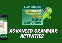 Advanced Grammar Activities capa