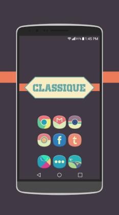 Classique Icon Pack Theme