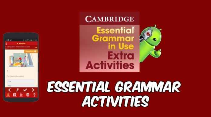 Essential Grammar Activities capa
