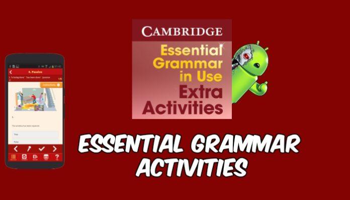 Essential Grammar Activities capa