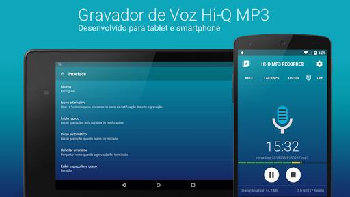 Gravador de Voz Hi-Q MP3 Pro