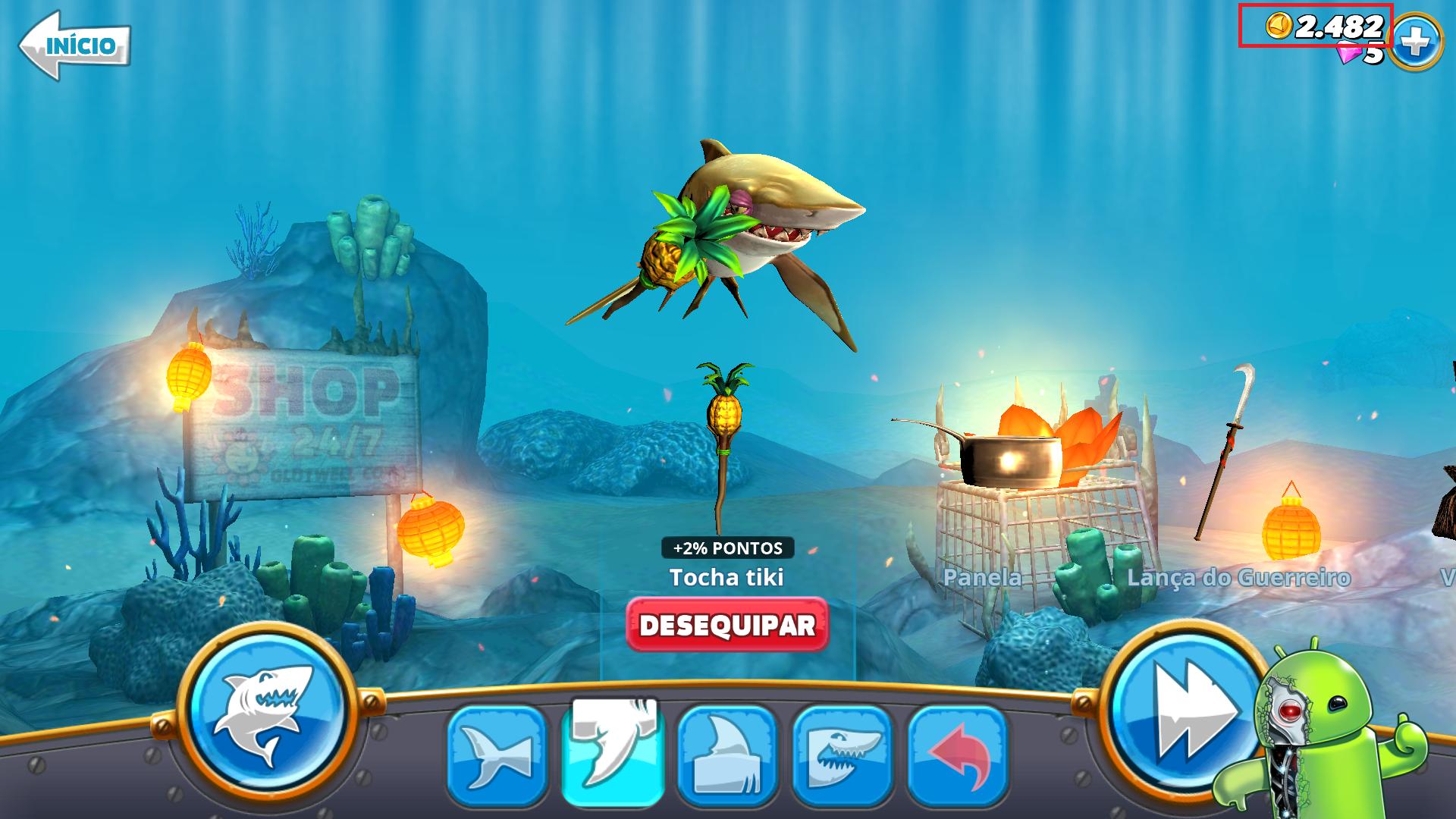 Hungry Shark World v1.8.4 MOD APK