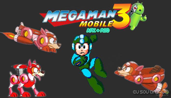 MEGA MAN 3 MOBILE v1 02 00 MOD APK - Eu Sou Android