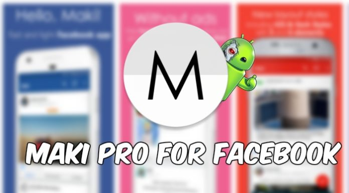 Maki Pro for Facebook