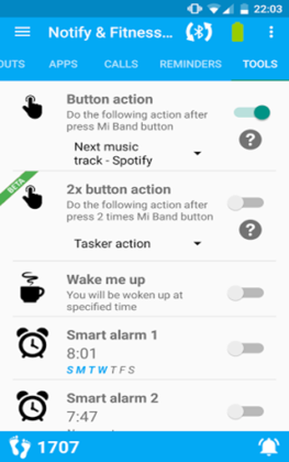 Notify And Fitness for Mi Band