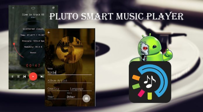 Pluto Smart Music Player